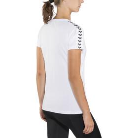 arena Team t-shirt Dames, white-white-black
